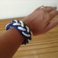 Nautical cotton rope bracelet sailors knot