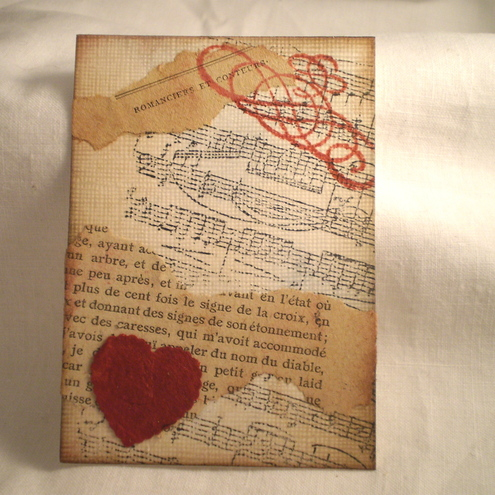 "ACEO ""If Music Be The Food Of Love"""