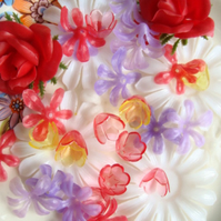 Vintage Plastic Flower Mix
