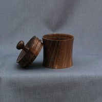 English Walnut Lidded Box