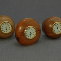 Pebble Clocks in English Woods