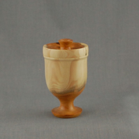 Lidded Box in Treebeard's Yew