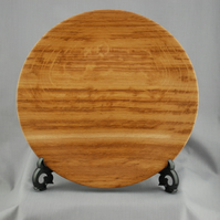 Decorative Platter in Brown Oak