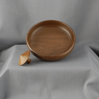 Walnut Top & Dish
