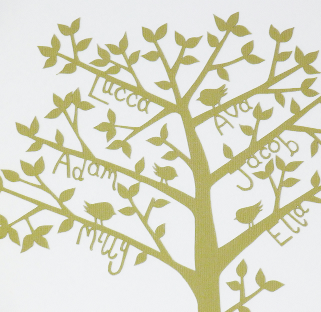 Family Tree with Adoption