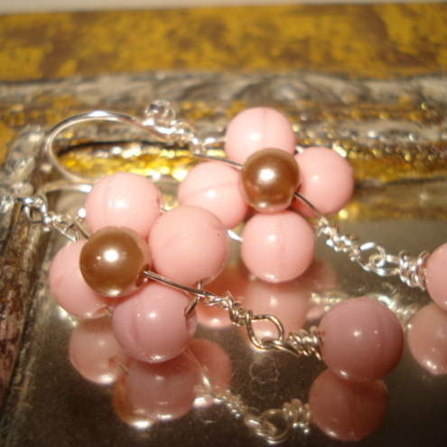 Daisy Pink Earrings