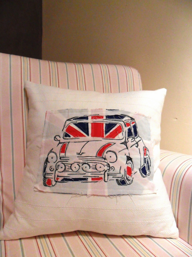 Union Jack Mini Cushion