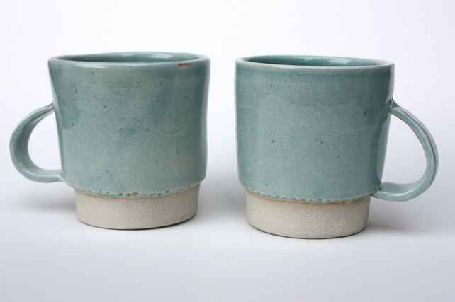 Hand thrown mugs