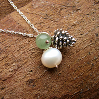 Autumn Charm Necklace - Autumn Jewellery