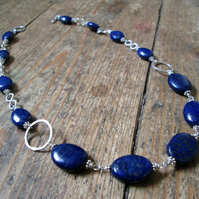 Custom Order for Peter - Lapis Lazuli Necklace