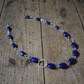 Lapis Lazuli and Sterling Silver Chunky Beaded Necklace