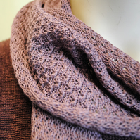 Pure Cotton Lacy Scarf in Musto