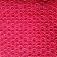Pure Cotton Lacy Shawl in Pomegranate