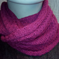 Pure Cotton Snood in Rose