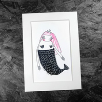 Mermaid- Original Artwork by Twinkle & Gloom