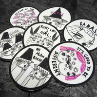 Handmade patches