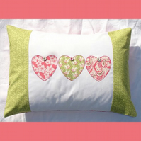 Summer Hearts Cushion