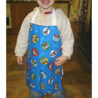 Childrens blue Thomas Tank Engine Apron age 1-4 years