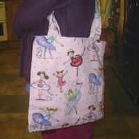 Childrens Ballet Fairie Bag