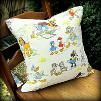 Vintage cushion, using an early 1960's Walt Disney Productions fabric.