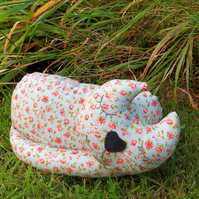SALE!!!  A snoozy cat doorstop.  Cat bookend.