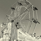 The big wheel.  A card featuring an original photograph.  Blank inside.