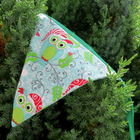 Festive bunting.  Double sided Christmas bunting.  2.65 metres in length.