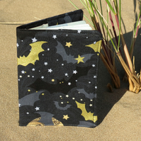 Bats.  A whimsically dark passport cover.  Passport sleeve.