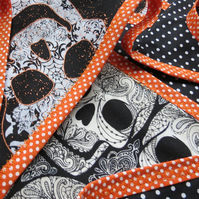 Halloween bunting. Double sided Halloween bunting.  2.02 metres, excluding ties.