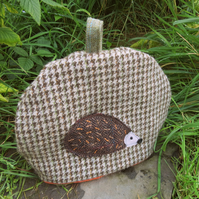 Prickles.  A tactile wool tea cosy. Size medium, made to fit a 3 - 4 cup teapot.