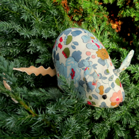 Floral mouse.  A pin cushion made from Liberty Lawn.