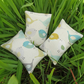 Set of three lavender filled sachets.  Bird design.  Lavender sachet bundle.