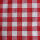 Gingham cotton.  1 metre of a medium weight gingham cotton.  56 inches wide.