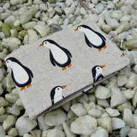 A Travel card holder. Oyster card wallet. Penguins.  Card Holder.