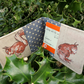 Oyster card holder. A card wallet with a squirrel design. Card holder.