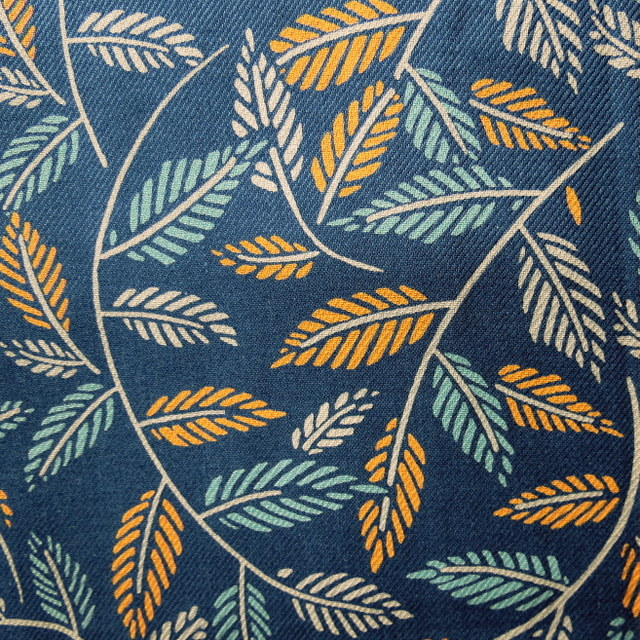 Seasalt brand fabric.  140cm x 100cm.  Cut Leaf Gallery design.