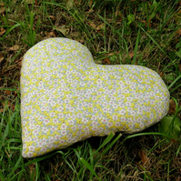 Breast Cancer Pillow.  Heart Cushion.  Masectomy Pillow.