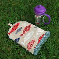 Coffee Cosy.  A coffee cosy, size large. To fit a 6 - 8 cup cafetiere. Fish.