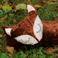 Fox Draught Excluder.  Draught Stopper.  99cm in length.