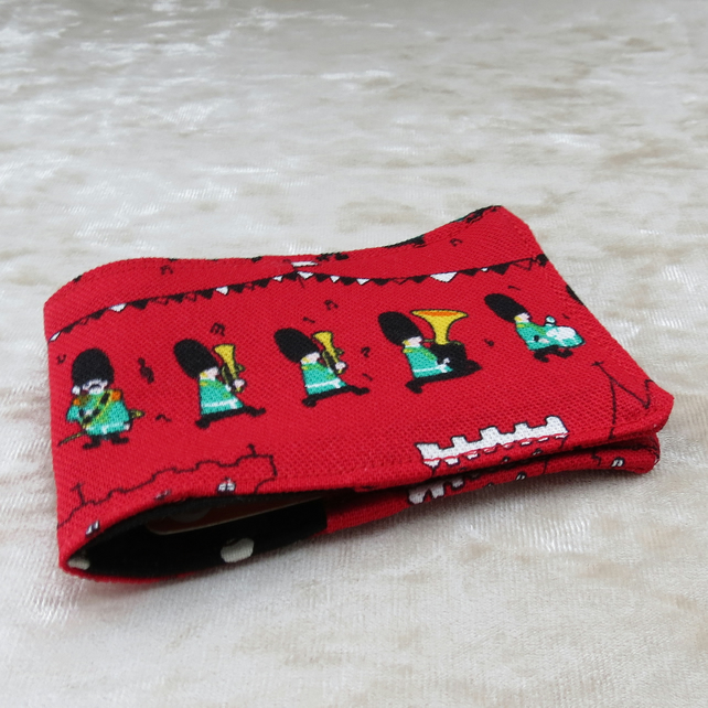 Oyster Card Sleeve. Travel card holder.  London design.