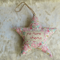 Chemo Star.  Cancer Gift.  No more chemo.