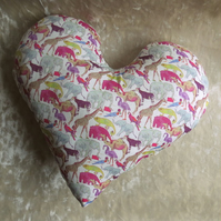 Masectomy pillow.  Heart pillow.  Breast surgery pillow.