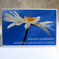 Cancer card.  Cancer remission.