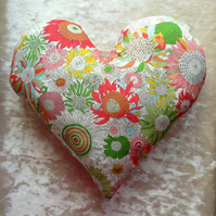 Mastectomy pillow.  Heart shaped pillow.  Breast Cancer pillow.