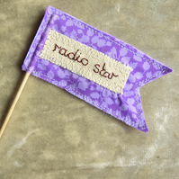 Radio Star. Cancer gift.  Cancer message.