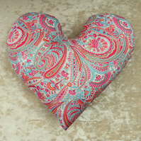 Breast cancer pillow.  Mastectomy pillow.  Made from Liberty Lawn.