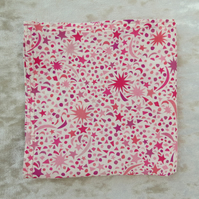 Ladies handkerchief.  A handkerchief made from Liberty Lawn.