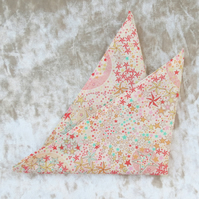 Liberty Lawn handkerchief. Shooting Stars design. Cotton handkerchief.