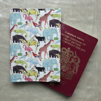Passport Cover. A passport sleeve made from Liberty Lawn. Passport pouch.