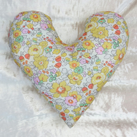 Mastectomy pillow. Breast cancer pillow. Made from Liberty Lawn.  Betsy design.